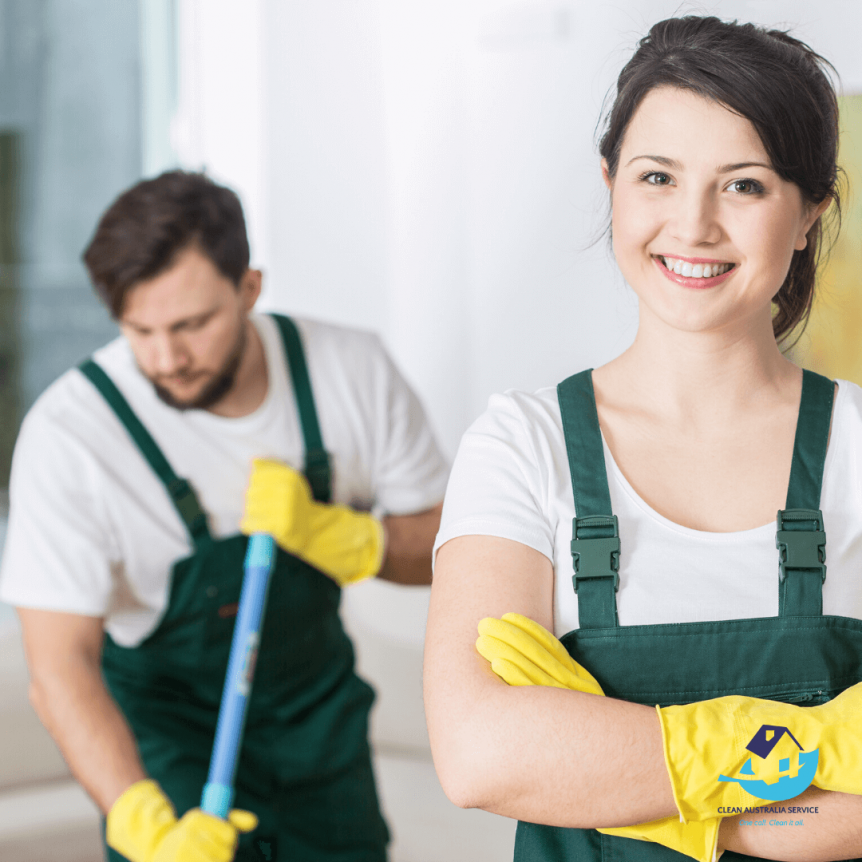 Hire the right people for cleaning