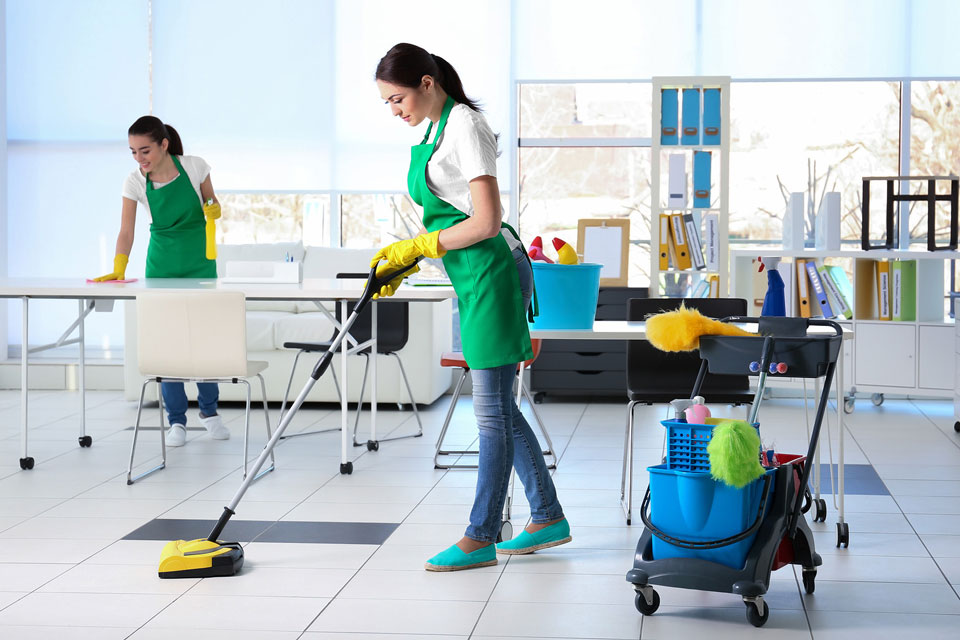 Cleaning An Office In Mosman, NSW