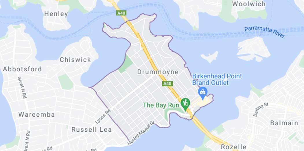 Drumoyne Cleaning Service Area